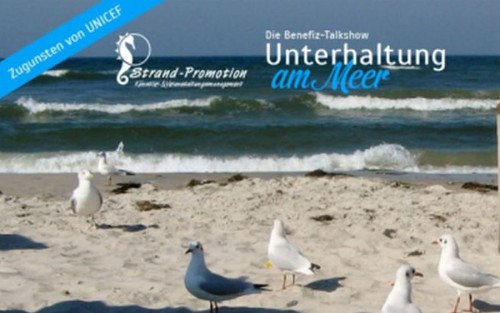 UNICEF Benefiz-Talk-Show 'Unterhaltung am Meer'