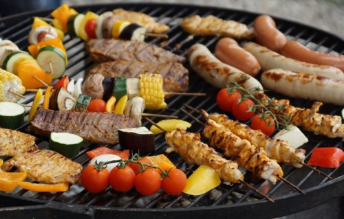 Winter-Barbeque
