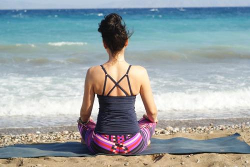 Sportstrand: Yoga